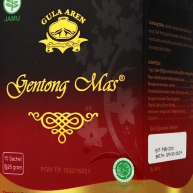 Foto Produk Hot Produk Gentong Mas /Minuman Rempah Gula Aren Stok Terbatas dari elifitriyzan shop