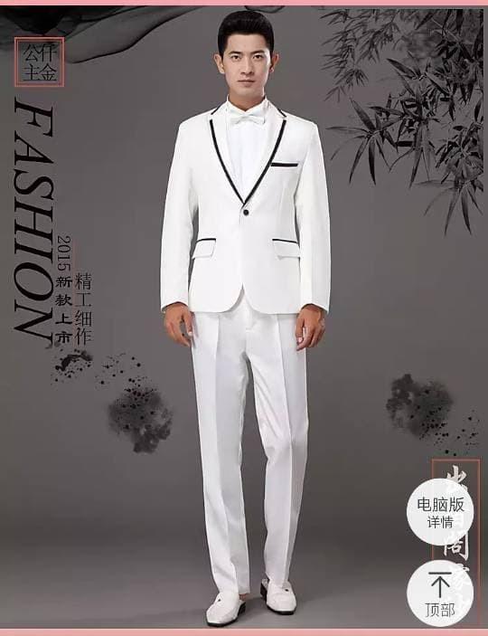 Jual Butik Jas Xz03 S45b13 Setelan Jas Pengantin Blazer Forma Pria Putih Kota Medan Nabad Jas Tokopedia