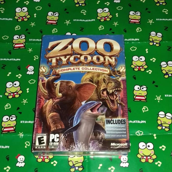 Jual ZOO TYCOON   COMPLETE COLLECTION   ORIGINAL PC GAME - Kota Surabaya -  EARTH Shop   Tokopedia