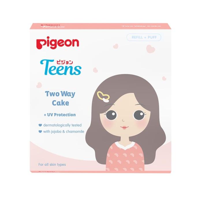 harga Pigeon two way cake 14gr - warm beige refill Tokopedia.com