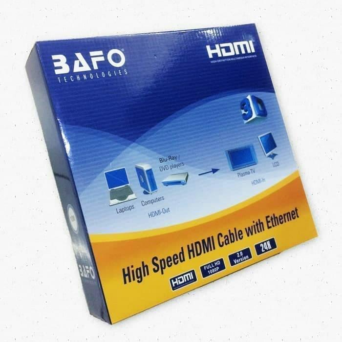 Foto Produk Kabel HDMI 20 Meter V1.4 Merk Bafo dari Enter Komputer Official