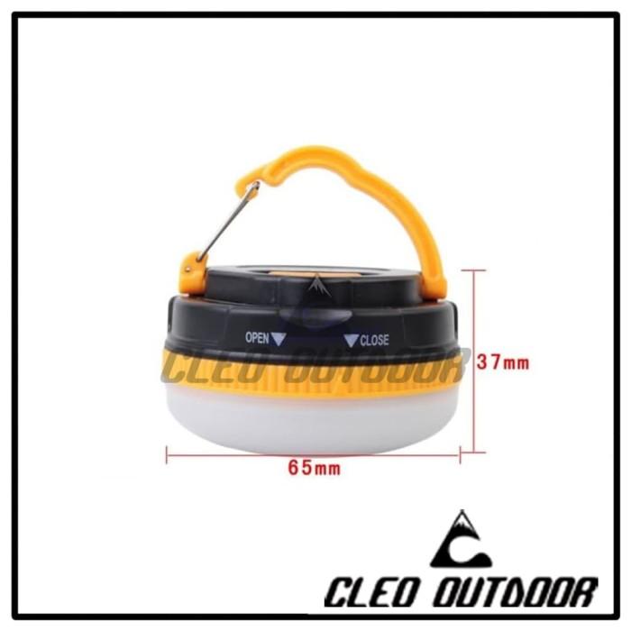 Foto Produk Lampu Tenda Magnet - bukan Lampu Tenda Lipat dari Cleo Outdoor Adventure