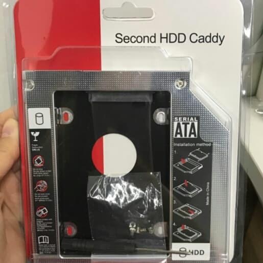 Foto Produk Caddy Hardisk (HDD) / SSD 12.7mm dari J'S Kom Hi-Tech mall