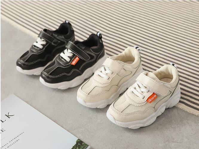 harga Sepatu sekolah anak trendy / plain sport shoes - 27 hitam Tokopedia.com