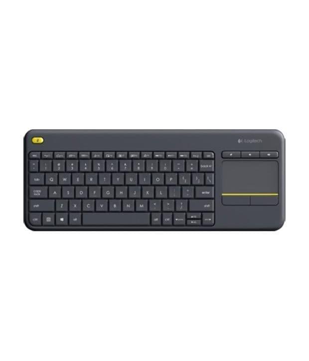 Keyboard Wireless Logitech K400 PLUS - Hitam