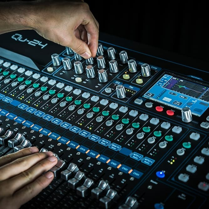 harga Allen & heath qu 24 / qu-24 / qu24 digital mixer Tokopedia.com