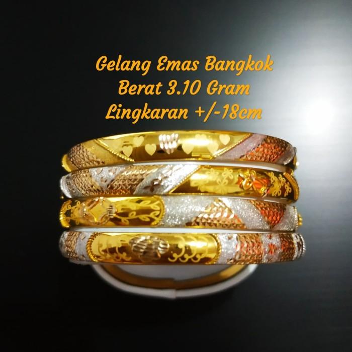 Jual Gelang Emas 420 Asli Model Bangkok Bisa Kredit Kota Bekasi Toko Rc Big Toys Tokopedia