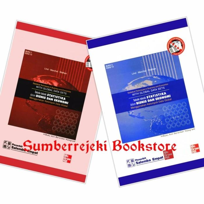 Foto Produk Buku Teknik Reknik Statistika Dalam Bisnis Dan Ekonomi Edisi 13 Buku dari Sumber Rejeki Bookstore