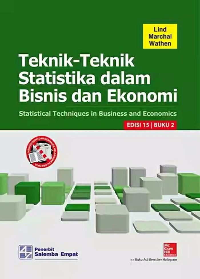 Foto Produk Teknik Teknik Statistika Dalam Bisnis Dan Ekonomi Ed 15 Buku 2 By Li dari Sumber Rejeki Bookstore