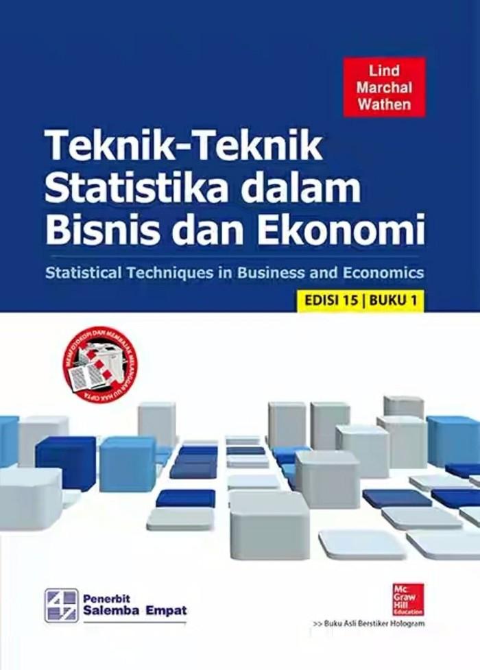Foto Produk Teknik Teknik Statistika Dalam Bisnis Dan Ekonomi Ed 15 Buku 1 By Li dari Sumber Rejeki Bookstore