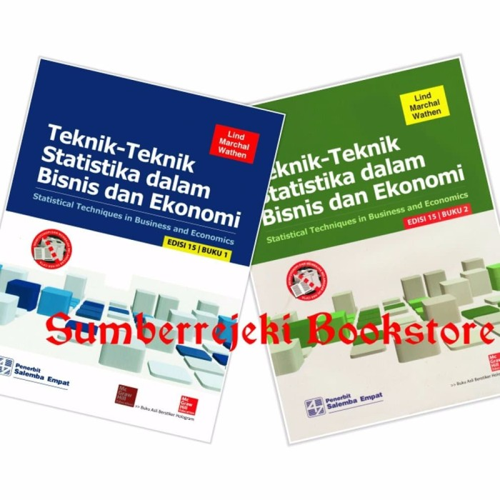 Foto Produk Teknik Teknik Statistika Dalam Bisnis Dan Ekonomi Ed 15 Buku 1 2 Lin dari Sumber Rejeki Bookstore