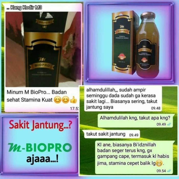 Foto Produk M BIOPRO Obat Sakit Jantung Koroner Bocor-Iskemik-Infeksi Mbiopro dari Tasik Store