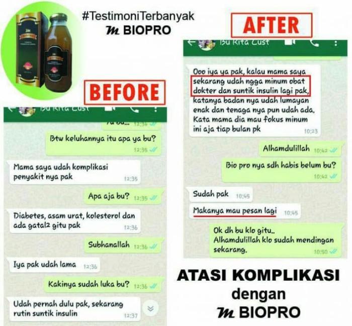 Foto Produk M BIOPRO Obat Asam Urat Reumatik - Pegal Linu-Pinggang - Encok Mbiopro dari Tasik Store