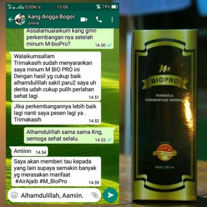 Foto Produk M BIOPRO Obat Sakit Paru Paru Kering-Basah Radang Kronis-Mbiopro dari Tasik Store