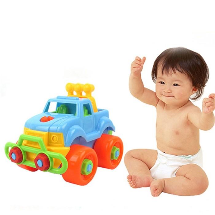 Foto Produk Mainan Mobil Klasik Bongkar Pasang untuk Hadiah Natal Bayi Anak Laki dari Tokoe Murah