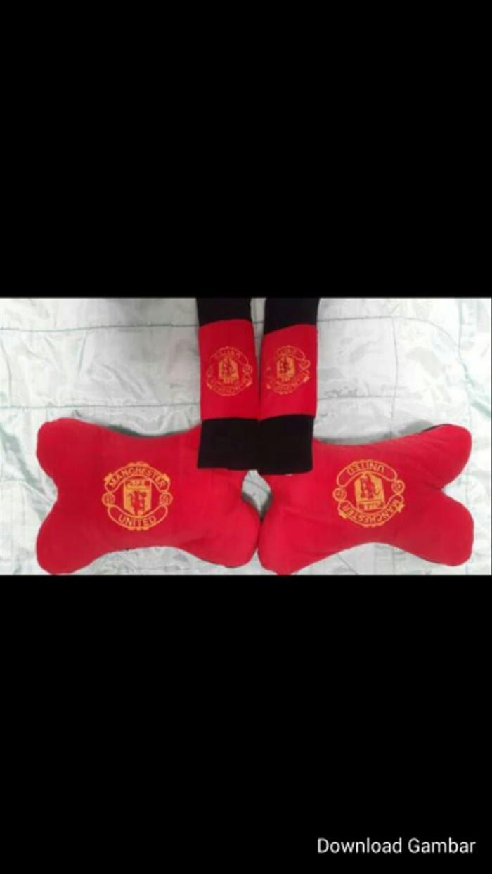Jual Bantal Mobil MU Manchester United 2in1 Jakarta Utara Mellystores