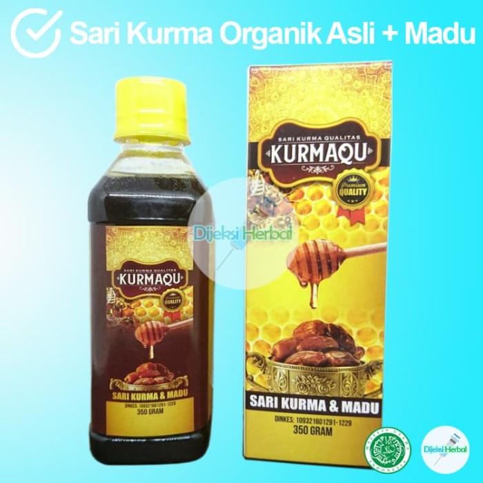 Foto Produk Diet Vitamin Suplemen KURMAQU Sari Kurma Organik + Madu Ready Stock dari Dijeksi Herbal