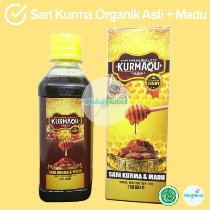 Foto Produk Ekstrak Sari Kurma Asli KURMAQU dari Dijeksi Herbal
