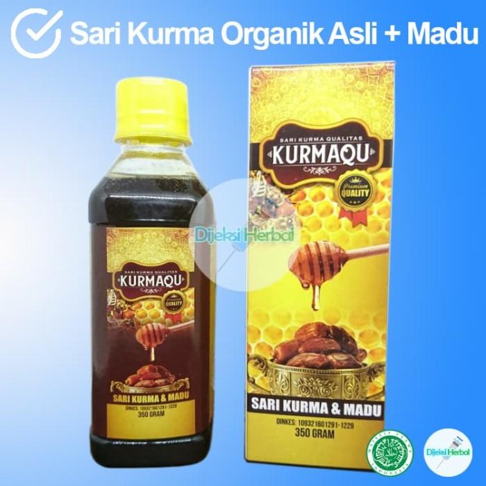 Foto Produk Grosir Sari Kurma + Madu KURMAQU Vitamin & Nutrisi Terbaik dari Dijeksi Herbal