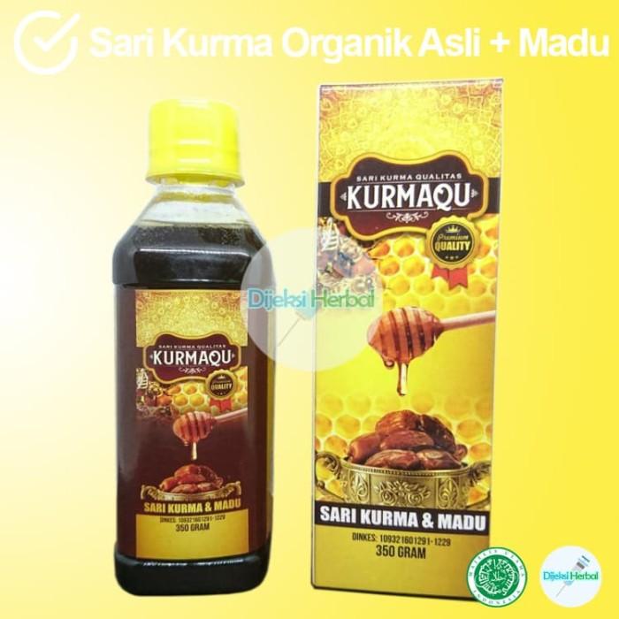 Foto Produk ORDER SARI KURMA KURMAQU Kualitas PREMIUM Dijamin Original dari Dijeksi Herbal