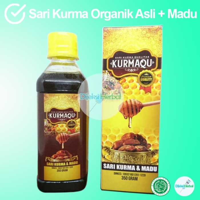 Foto Produk GROSIRAN Sari Kurma KURMAQU Premium (2in1) MURAH dari Dijeksi Herbal