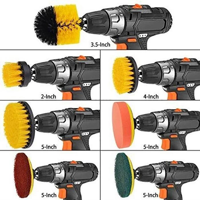 Jual RARE GYTB 8-Pack Electric Drill Brush Cordless Drill Scrub Pads - Kota  Surabaya - brenitanita | Tokopedia