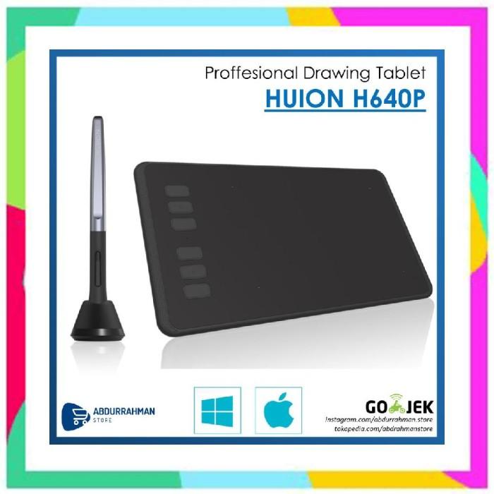 Jual RDS Huion H640P H 640 P Pro Pen Grafik Tablet Desain Grafis like WACOM  - DKI Jakarta - rdstwn5 | Tokopedia