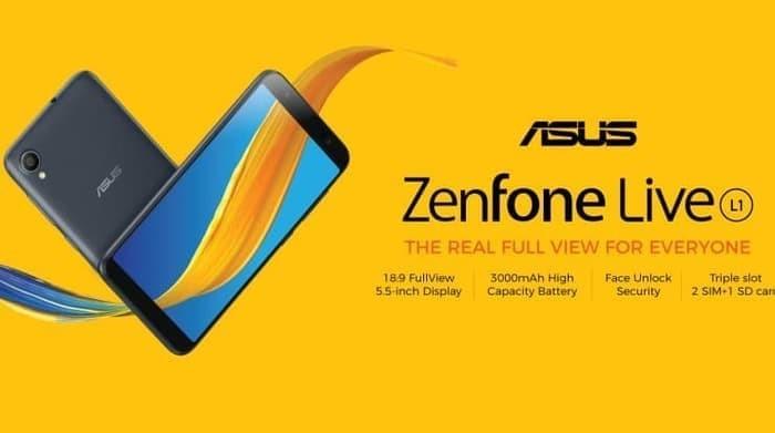 Foto Produk Asus Zenfone Live L1 ZA550KL 2/16 GARANSI RESMI ASUS dari ical handri