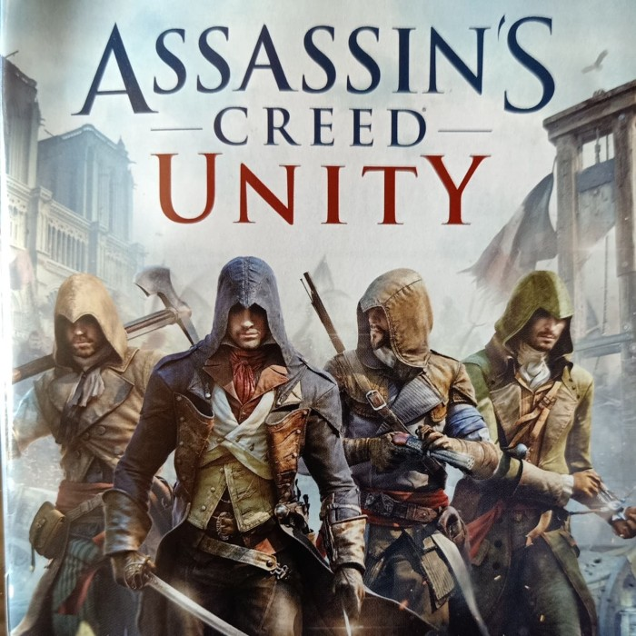 Jual Kaset Ps4 Assassin S Creed Unity Original 2nd Kota