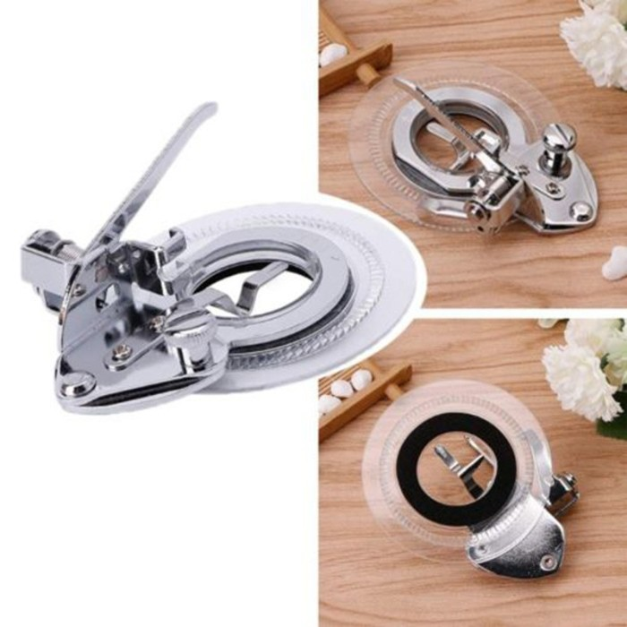 Multifunctional Flower Stitch Circle Embroidery Presser Foot For Sewing Machine#