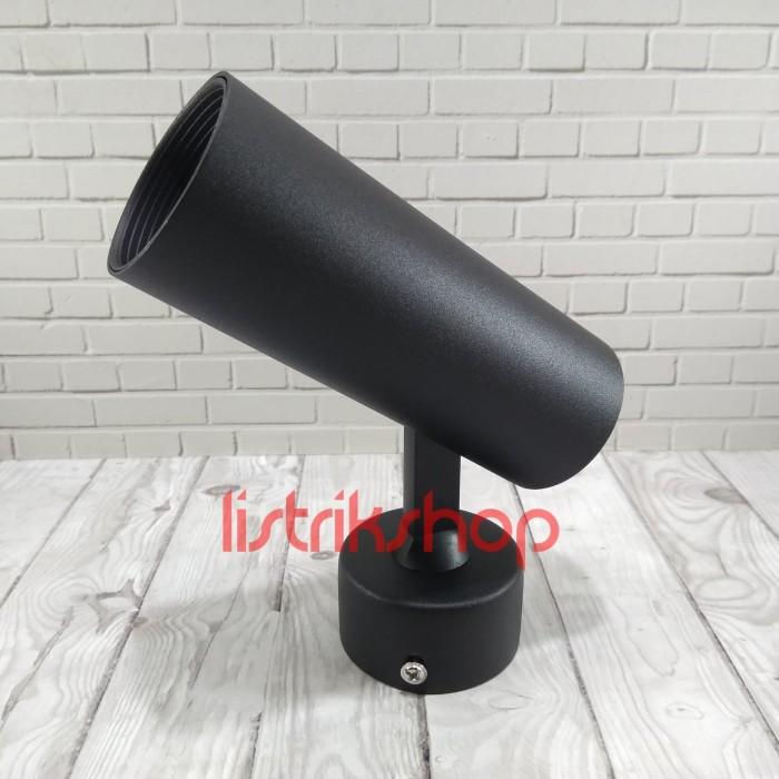 Jual Housing Lampu Spot Sorot Mr16 Dudukan Plafon Hitam Sa 216