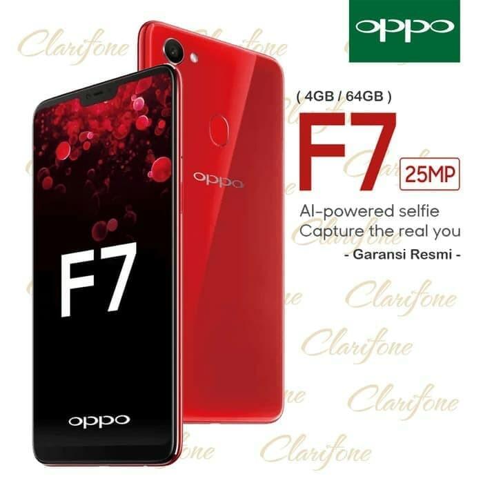 Jual Ready Hp Oppo F7 4 64 Gb F 7 V7 Ram 4gb Internal 64gb Black Red Jakarta Barat Lukman03189 Tokopedia