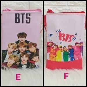 Foto Produk BTS SLING PHONE HP PRINTING TAS SLEMPANG ALA ARTIS KOREA KEKINIAN dari Marie Shop