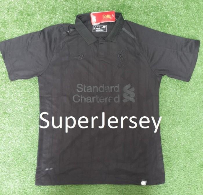 info for 8abcf b587f Jual Jersey Liverpool BlackOut Special Edition SALE - DKI Jakarta -  brandnew | Tokopedia