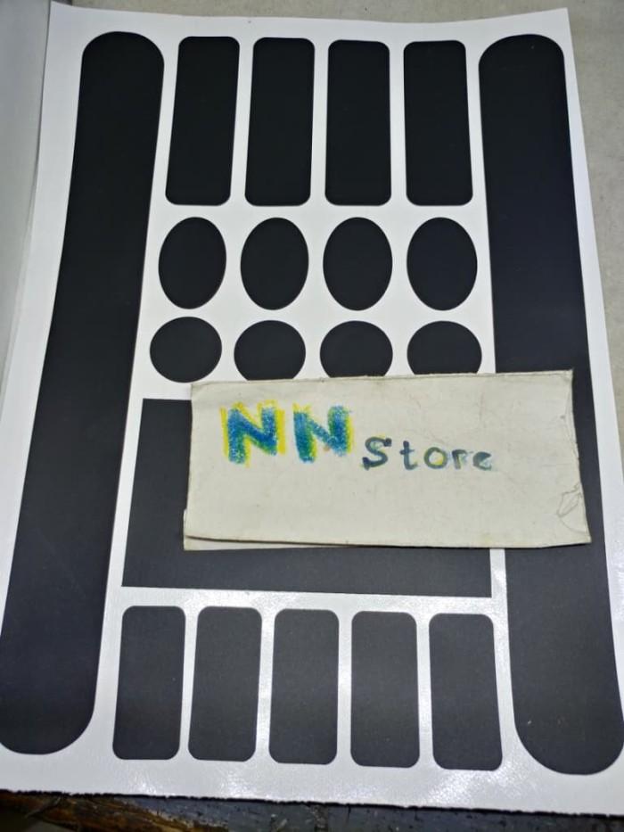 Foto Produk Stiker untuk melindungi frame warna hitam sepeda gowes dari NN Store