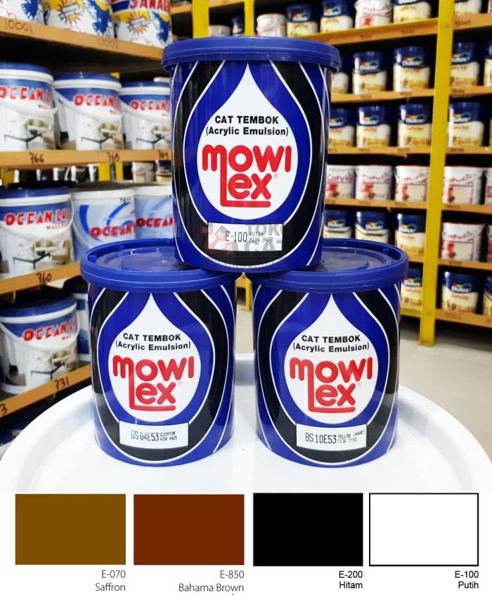 harga Cat tembok mowilex 1 liter - warna e100 e200 e070 e850 Tokopedia.com