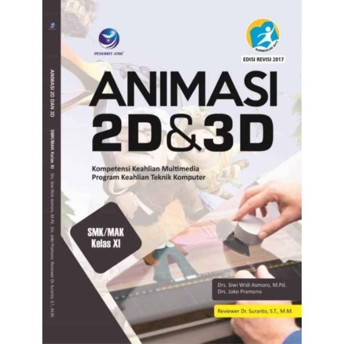 Jual Buku Animasi 2d 3d Smk Mak Kelas Xi Kota Tangerang Beli Buku Original Tokopedia