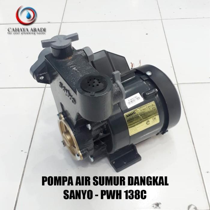 Jual POMPA AIR SANYO - PWH 138 C - 125 WATT - MANUAL - Kab ...