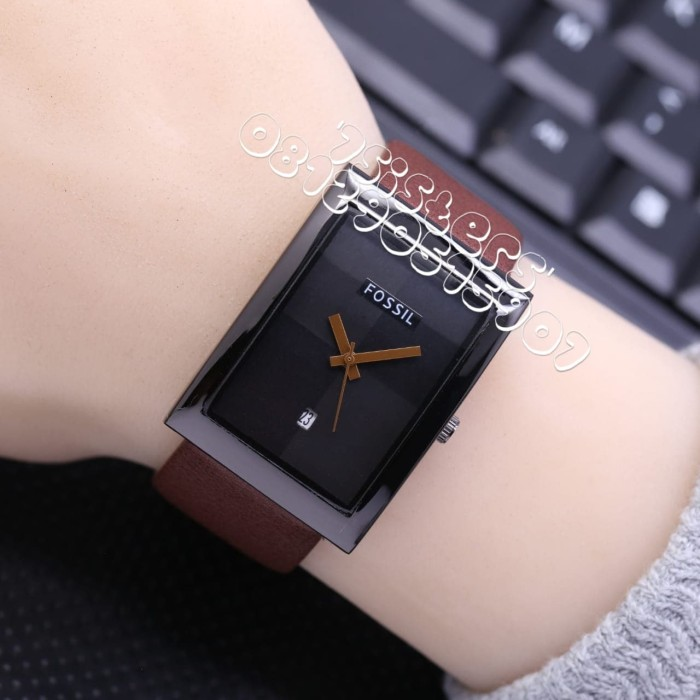 harga Jam tangan wanita cewek fossil analog kulit 6 semi super Tokopedia.com