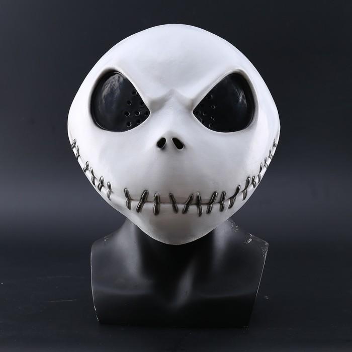 Jack Skellington Latex Mask Gloves Halloween Nightmare Before Christmas Costume