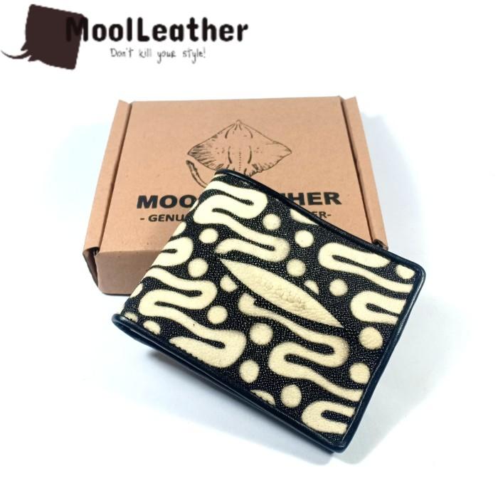 harga Dompet pria dari kulit pari motif batik parang Tokopedia.com
