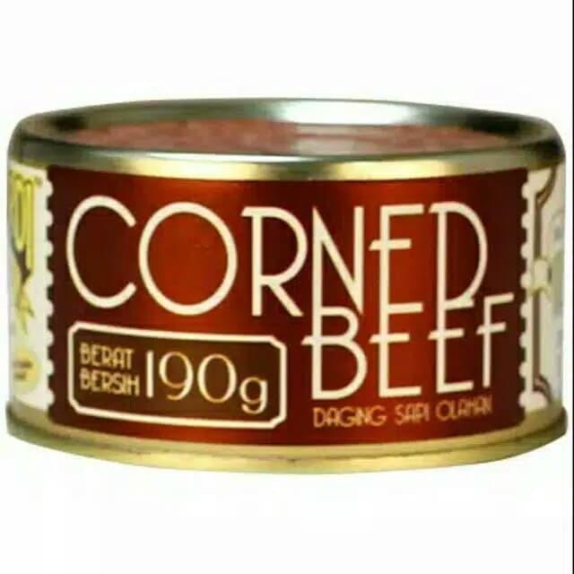 Foto Produk Bernardi Corned Beef 190gram dari Irfanfresh