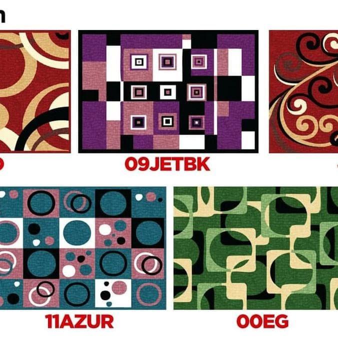 HOT SALE Karpet Minimalis PP Rugs Modern 09 Ukuran 115 x 155 cm