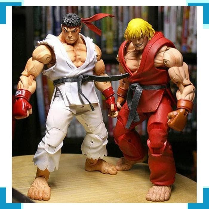 Jual Street Fighter Action Figure Neca Original Ryu Ken Figur Hobi