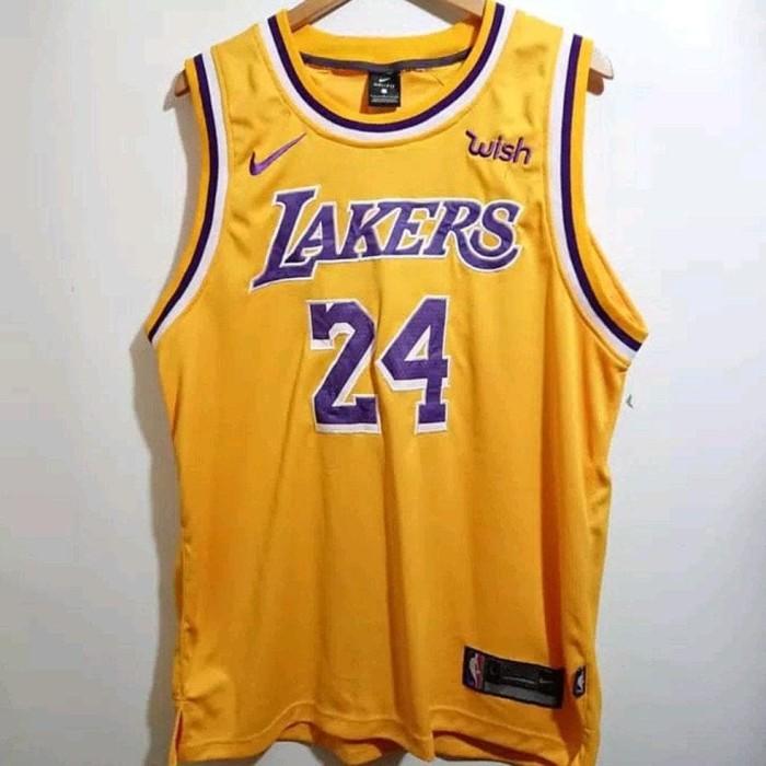 brand new 834b1 fcb1c Jual Jersey Basket Nba Lebron James La Lakers Swingman 2018 - Jersey - DKI  Jakarta - Azzalfa-Online | Tokopedia