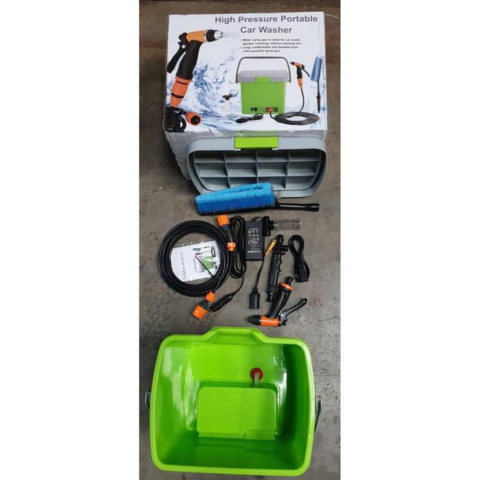 harga Hijau portable car washer cuci mobil motor steam jet cleaner lakoni Tokopedia.com