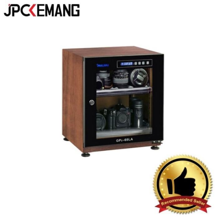 Foto Produk SAMURAI GP2- 60LA 60L DIGITAL WOODEN METAL DRY CABINET dari JPCKemang