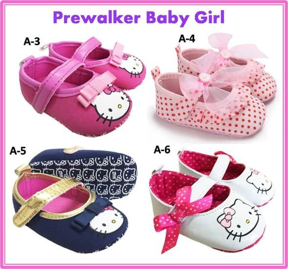 harga Sepatu bayi perempuan prewalker sol kain anti slip Tokopedia.com