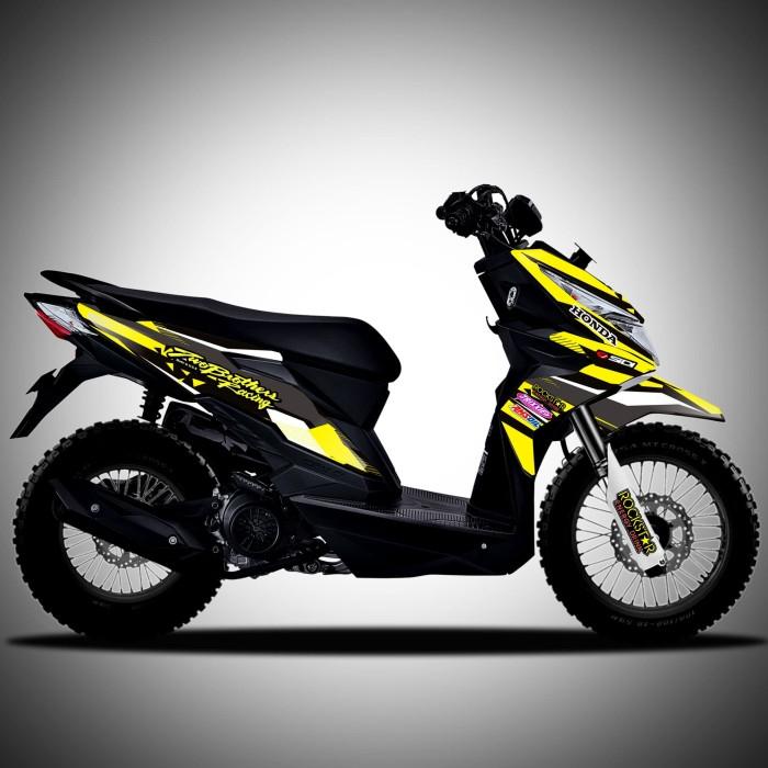 Jual Decal Striping Honda Beat Street Modifikasi Pelindung Body Motor Jakarta Utara Skinzart90 Tokopedia