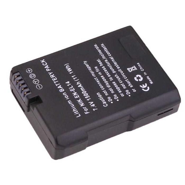 harga Baterai nikon en-el14 en-el14e for nikon d3100 d3200 d5100 d5200 Tokopedia.com